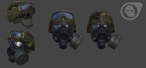 Operation Black Mesa: HECU Helmet